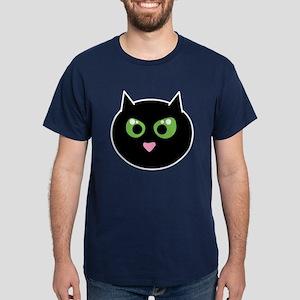 Angry Black Cat Dark T-Shirt