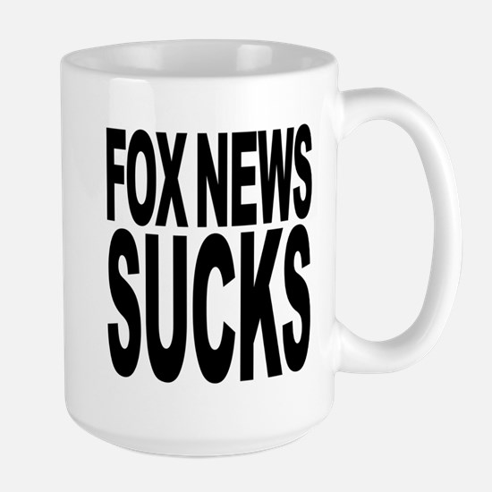 Fox News Sucks Large Mug