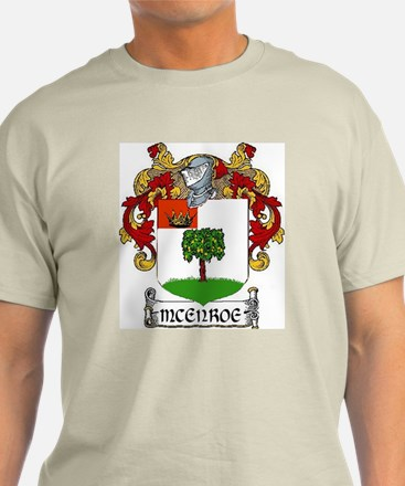 McEnroe Coat of Arms T-Shirt