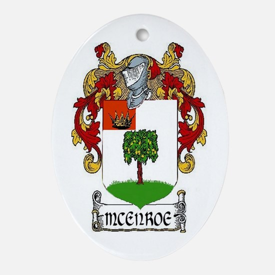 McEnroe Coat of Arms Keepsake Ornament