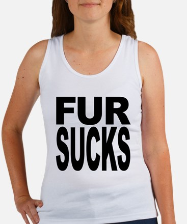 Fur Sucks Women's Tank Top