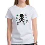 Pot Skull Women's T-Shirt