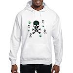 Pot Skull Hooded Sweatshirt