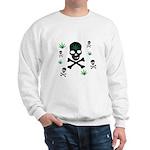 Pot Skull Sweatshirt