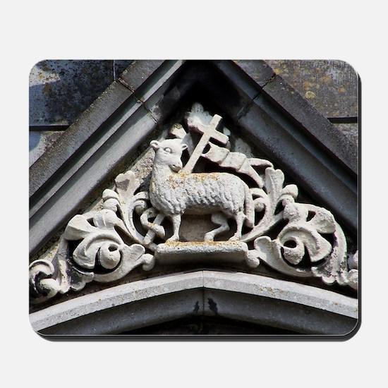Lamb of God Mousepad