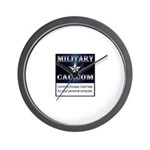 MilitaryCAC.com Wall Clock