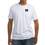 MilitaryCAC.com Fitted T-Shirt