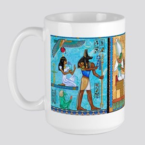 Egyptian Gold/Turquoise Large Mug