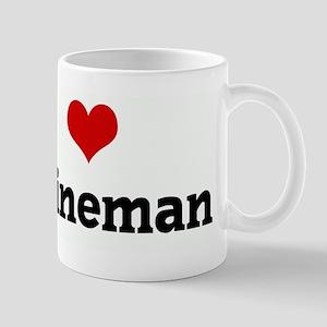 I Love my lineman Mug