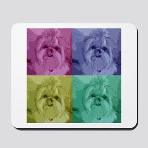 Shih Tzu Pop Art Missy Mousepad