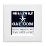 MilitaryCAC.com Tile Coaster