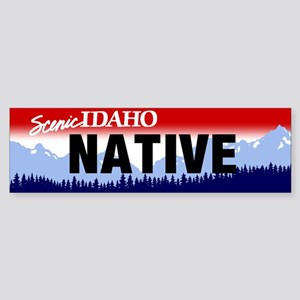 Idaho Native Sticker (Bumper)