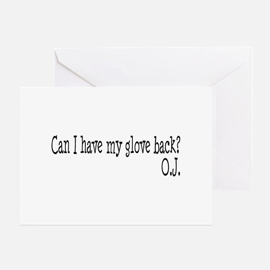 Can I Have My Glove Back Greeting Card