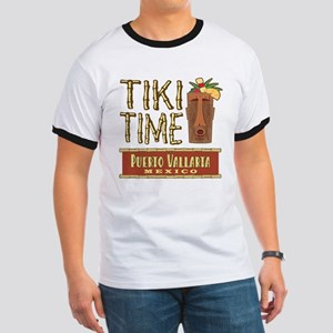 Puerto Vallarta Tiki Time - Ringer T