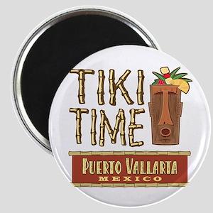 Puerto Vallarta Tiki Time - Magnet