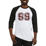 Number 69 Baseball Jersey