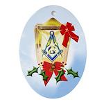 Masonic Light Christmas Keepsake (Oval)