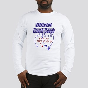 Football Couch Coach Long Sleeve T-Shirt