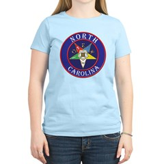 North Carolina OES in a circle Women's Light T-Shi