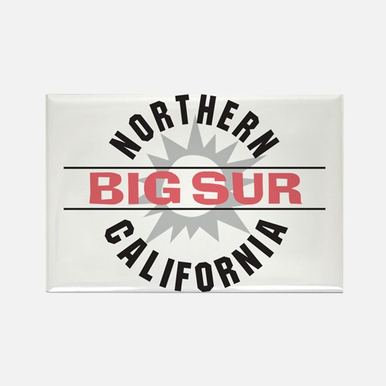 Big Sur California Rectangle Magnet