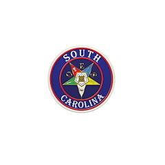 South Carolina OES in a circle Mini Button (100 pa