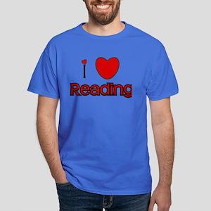 I Love Reading Dark T-Shirt