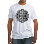 Geo Chrome Fitted T-Shirt