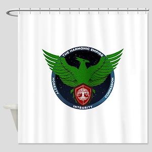 Green Seal of Harmonic Empire Shower Curtain