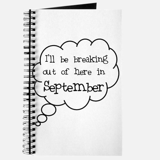 """""""Breaking Out September"""" Journal"""