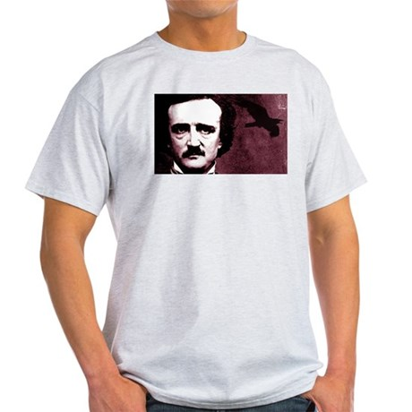 Edgar Allan Poe Light T-Shirt