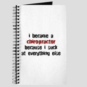 Chiropractor Suck at Everything Journal