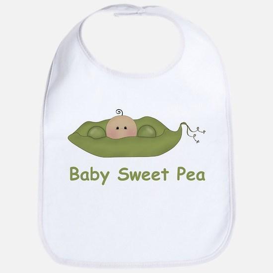 One Baby Sweet Pea Bib
