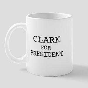 Clark for President Mug