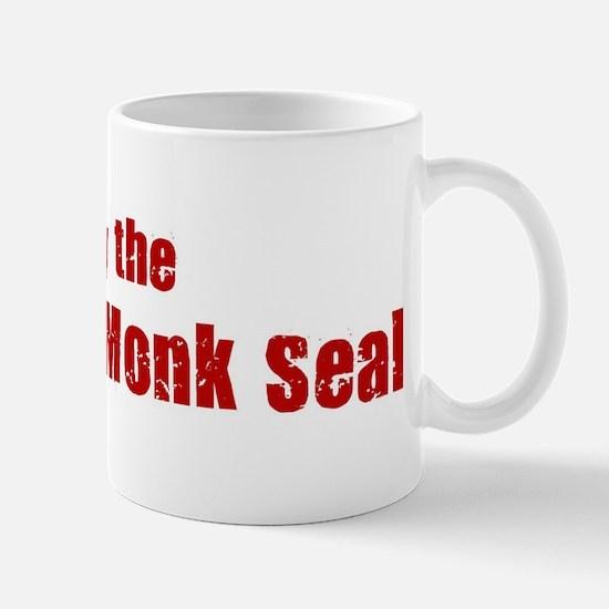 Obey the Hawaiian Monk Seal Mug