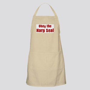 Obey the Harp Seal BBQ Apron