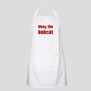 Obey the Bobcat BBQ Apron