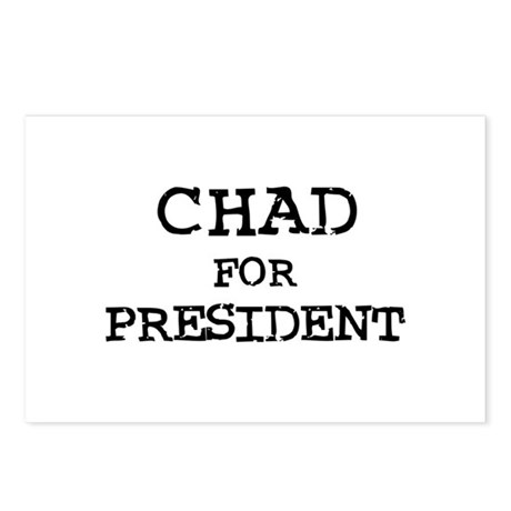 Chad for President Postcards (Package of 8)