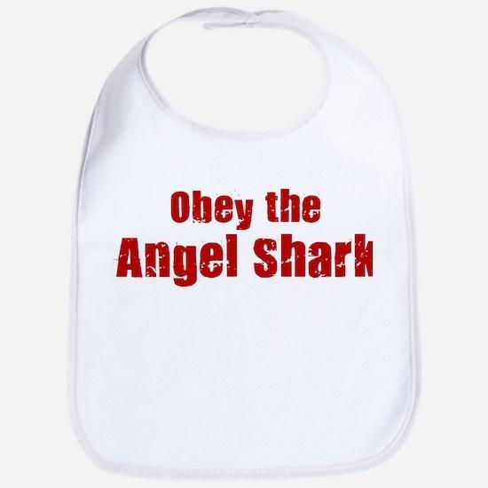 Obey the Angel Shark Bib