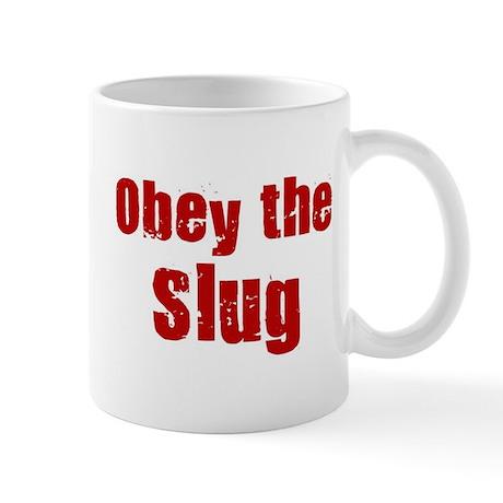 Obey the Slug Mug