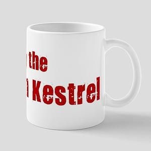 Obey the American Kestrel Mug