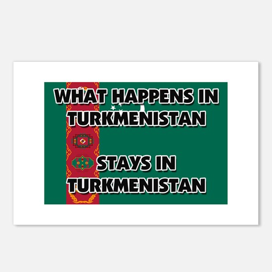 What Happens In TURKMENISTAN Stays There Postcards