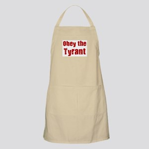 Obey the Tyrant BBQ Apron