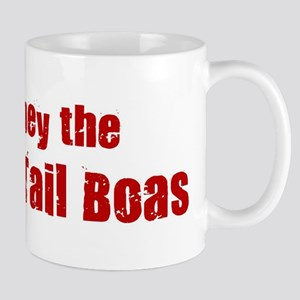 Obey the Red Tail Boas Mug