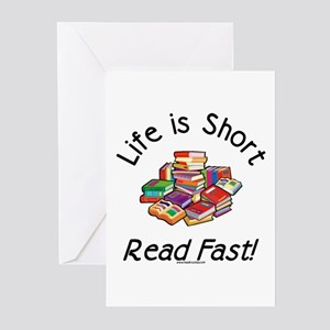 Life is Short Greeting Cards (Pk of 10)