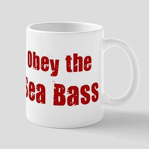Obey the Sea Bass Mug