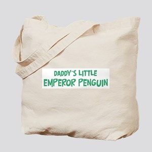 Daddys little Emperor Penguin Tote Bag