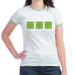 Dutch Gold And Yellow Design Jr. Ringer T-Shirt