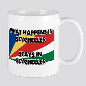 What Happens In SEYCHELLES Stays There Mug