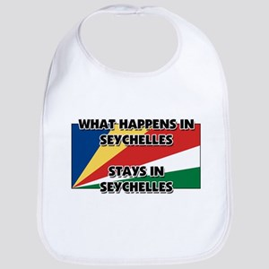 What Happens In SEYCHELLES Stays There Bib