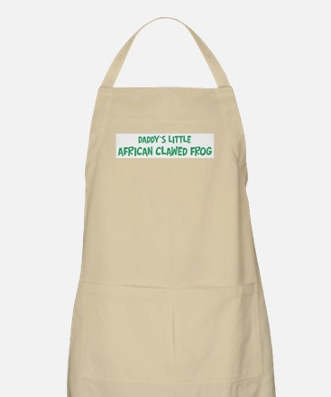 Daddys little African Clawed BBQ Apron